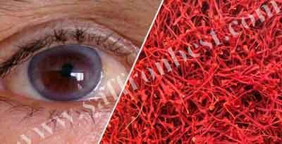 Effects of Iranian saffron on eyes